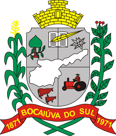 Brasão de Bocaiúva do Sul
